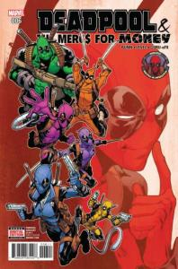 Deadpool & The Mercs for Money (Sept 2016 series) #6, NM (Stock photo)