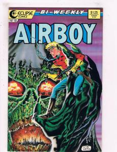 Airboy #18 VF/NM Eclipse Comics Comic Book 1986 DE25