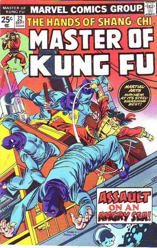 Master of Kung Fu, the Hands of Shang-Chi #32 (Sep-75) VF/NM High
