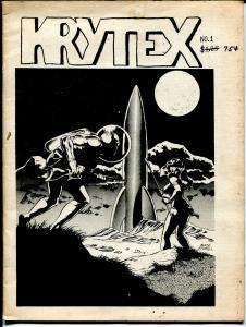 Krytex #1 1977-1st issue-underground comix-Pat Broderick-Harold The Rat-VG