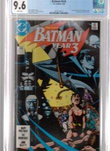 Batman #436 (1989) CGC 9.6