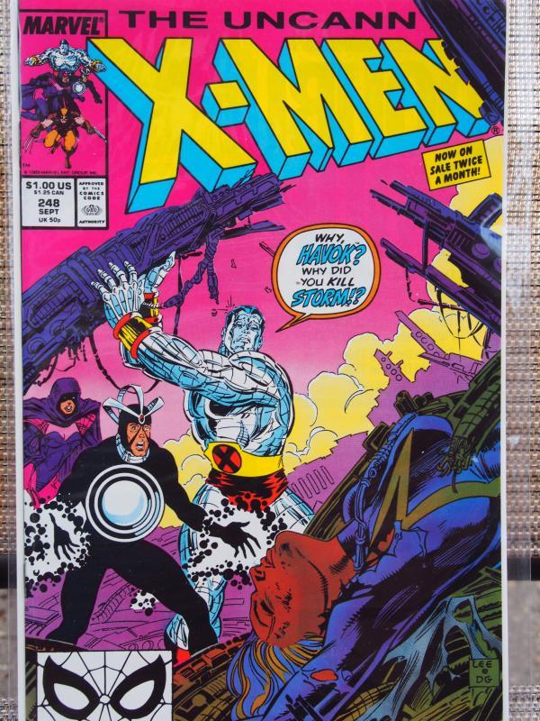 X-Men 248  VF/NM Unread First Jim Lee art
