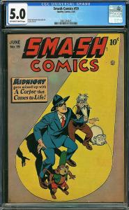 Smash Comics #59 (Quality Comics, 1945) CGC 5.0