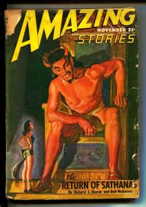 Amazing Stories-Pulps-11/1946-Richard S. Shaver-Berkeley Livingston