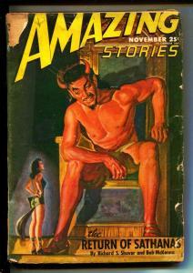 Amazing Stories-Pulps-11/1946-Richard S. Shaver-Berkeley Livingston