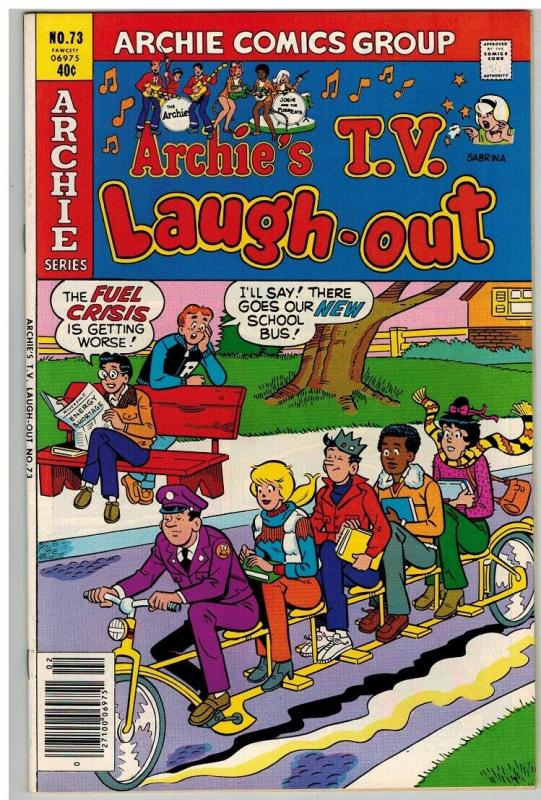 ARCHIES TV LAUGH OUT (1969-1986)73 VF Feb. 1980 COMICS BOOK