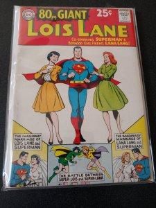 80 Page Giant #3 Lois Lane 1964 DC Silver Age COMIC F/VF