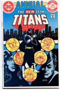 The New Teen Titans Annual 2 1st Vigilante ! VF/NM