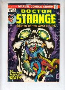 Doctor Strange #4 (Oct-74) VF/NM High-Grade Dr.Strange