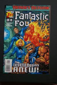 Fantastic Four Vol 3 #1 1998