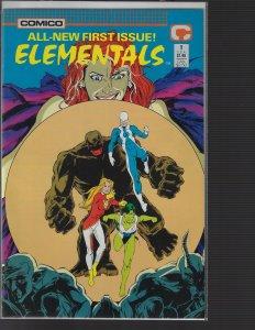 Elementals #1 (Comico, 1989) NM