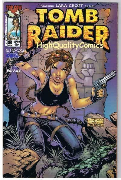 TOMB RAIDER #8, NM+, Lara Croft, Andy Park, 1999, more TR in store