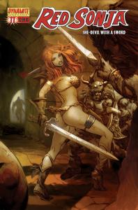 Red Sonja #11 - Pat Lee Cover