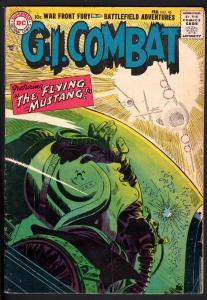 G.I. COMBAT #45 1957- dc war - GREAT COVER!