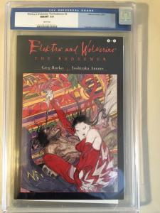 Elektra and Wolverine The Redeemer #2 CGC9.8 Greg Rucka Yoshitaka Amano Marvel