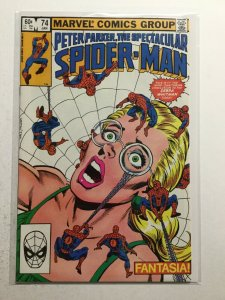 Peter Parker, The Spectacular Spider-Man 74 Near Mint Nm Marvel