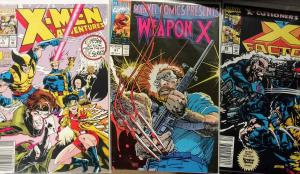 X-MEN Adventures #1, Marvel Comics Presents #81  and X-Factor #85