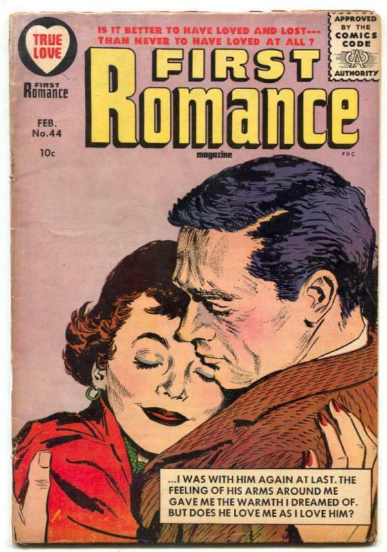 First Romance #44 1947- Harvey Silver Age- G+