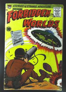 Forbidden Worlds (1951 series) #86, VG+ (Actual scan)