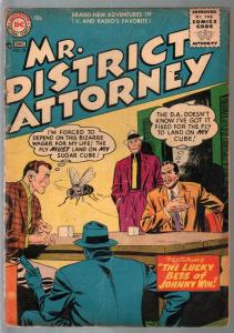 Mr District Attorney #54 1956-DC-Underworld Spy Squad-VG