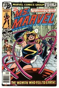 MS. MARVEL #23-1979-HIGH GRADE-Last issue
