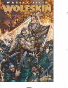 2 Avatar Press Comics Wolfskin # 1 Vicious & Blackgas 2 # 1 Gore Warr Ellis AK47