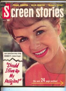 Screen Stories-Debbie Reynolds-Marilyn Monroe-Dean Martin-Sept-1960