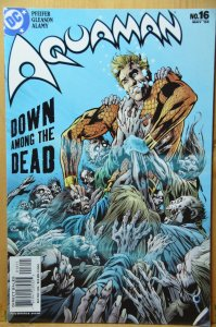 Aquaman #16 (2004) Down Among the Dead!