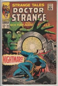 Strange Tales #164 (Jan-68) FN/VF+ High-Grade Nick Fury, Dr. Strange