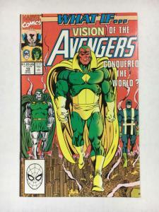 WHAT IF #19, VF/NM, Avengers, Vision, Dr Doom, 1988 1990, Marvel