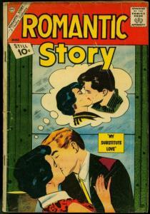 Romantic Story #59 1962- Charlton Comics- Substitute Love F/G
