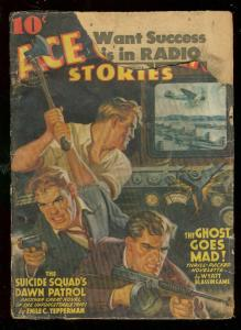 ACE G-MAN STORIES APRIL 1942-SUICIDE SQUAD-THE GHOST-GX G-