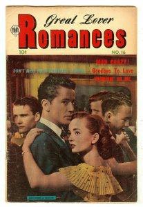 Great Lover Romances 16