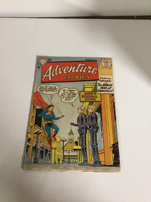 Adventure Comics 237 Vg- Very Good- 3.5
