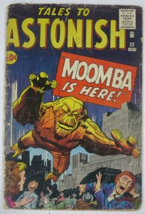 TALES TO ASTONISH 23 POOR 9/1961 Kirby/Heck/Ditko