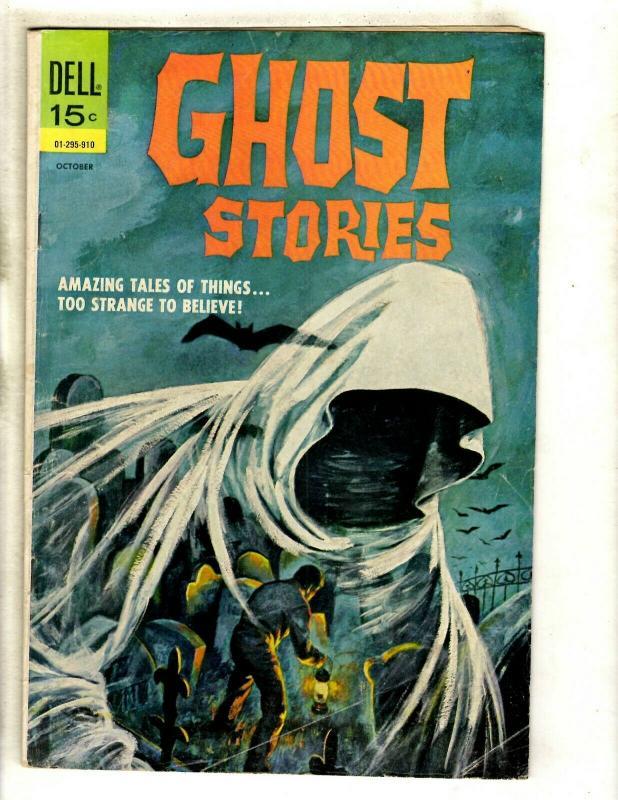 6 Dell Comic Books Frankenstein 3 Air War 4 Ghost Stories 22