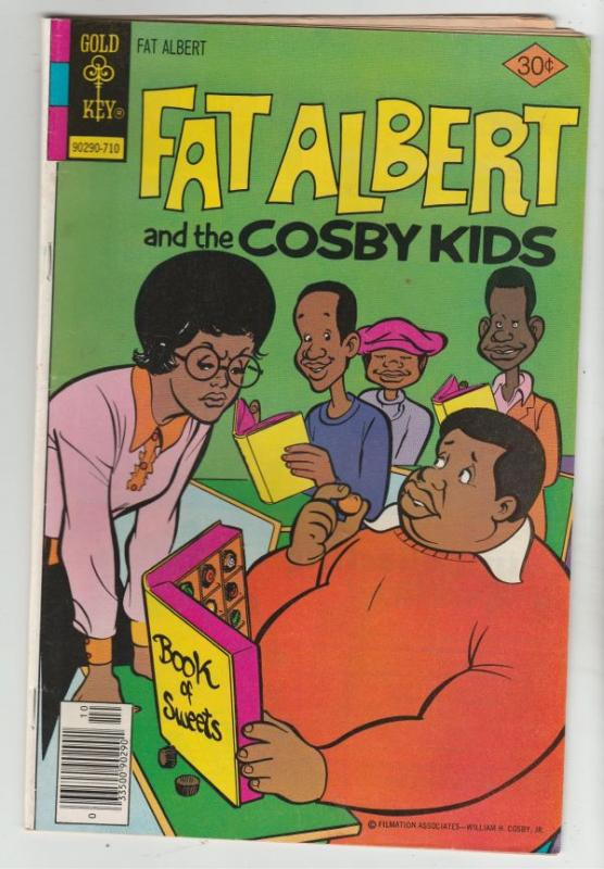 Fat Albert and the Cosby Kids #21 (Oct-77) FN/VF Mid-High-Grade Fat Albert, R...
