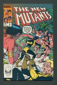 New Mutants #8  8.5 VFN+  October 1983