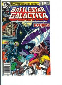 Battlestar Galactica #2 - Bronze Age -  April, 1979 (NM-)