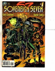 7 DC Comics Soverign Seven 1 2 3 4 + Metal Men 1 + Xenobrood 0 Darkstars 24 PP16