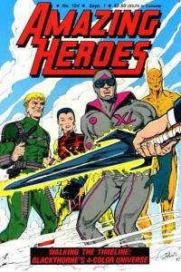Amazing Heroes #124, VF (Stock photo)