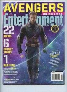 ENTERTAINMENT WEEKLY Collector's Cover: Capt. America - Promo Issue - Cover #14