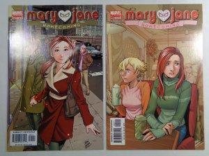 Mary Jane Homecoming #1 #2 Marvel