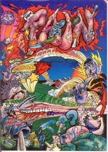 PAIN (1977 BAGGINER) 1 VG Geiser COMICS BOOK