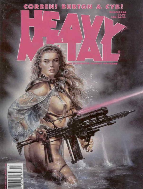 Heavy Metal #151 VF/NM; Metal Mammoth | save on shipping - details inside