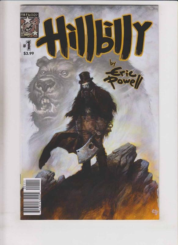 Hillbilly #1 VF/NM eric powell - 1st printing - albatross 2016 - first print