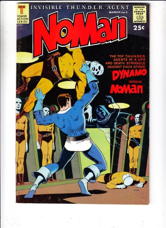 NoMan #2 (Mar-67) VF/NM High-Grade NoMan