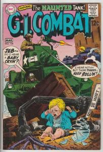 G.I. Combat #134 (Mar-69) FN+ Mid-High-Grade The Haunted Tank
