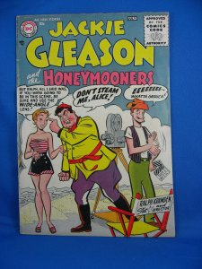 JACKIE GLEASON 1 VG F FIRST DC ISSUE 1956 SCARCE