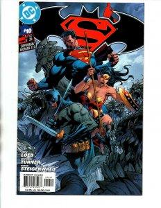 Superman Batman #10 B Variant - Wonder Woman - Jim Lee - 2004 - NM